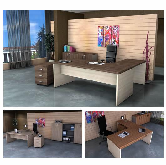 Sigma Office - 10ήμερο Προσφορών Ιουνίου  σε γραφεία και καθίσματα έως 60% - Compact διευθυντικό γραφείο από 300€ μόνο 150€